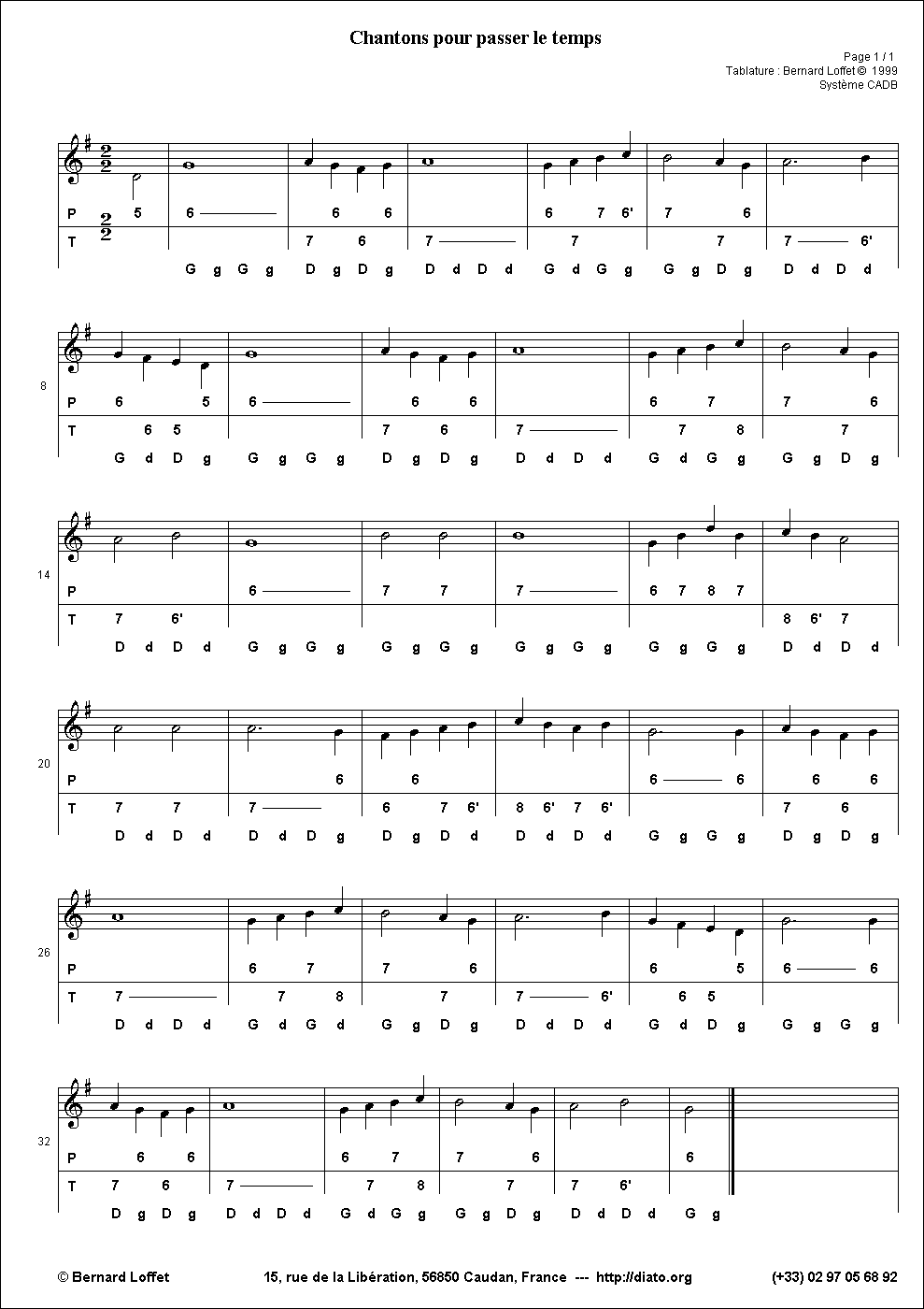 partition piano bubamara